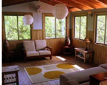 Casa Saigon in Bocas del Toro, Panama has two ample living rooms
